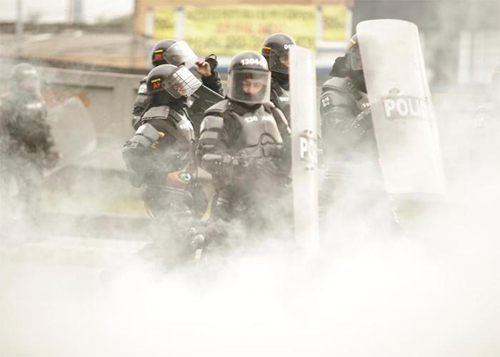 ¿Cuándo prohibirán el uso de gases lacrimógenos en Colombia?