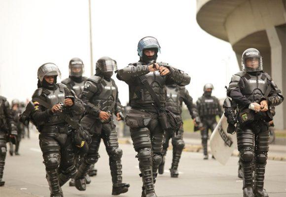 En las movilizaciones brillaron los excesos de la fuerza pública