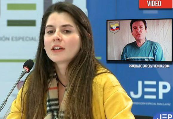 Juliana Orozco tenía ocho años cuando las Farc asesinaron a su papá. En la JEP les habló de frente