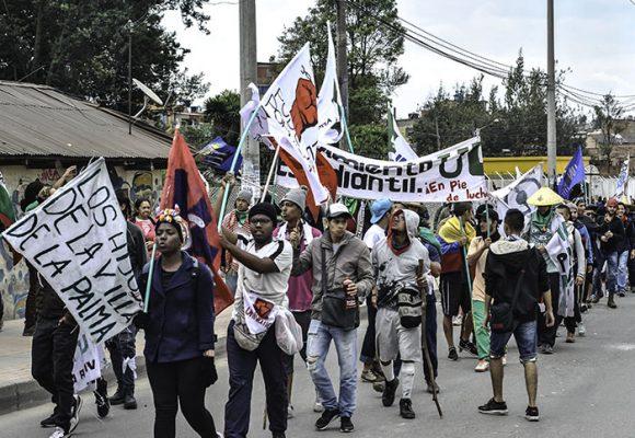 Una marcha pacífica que espera ser oída