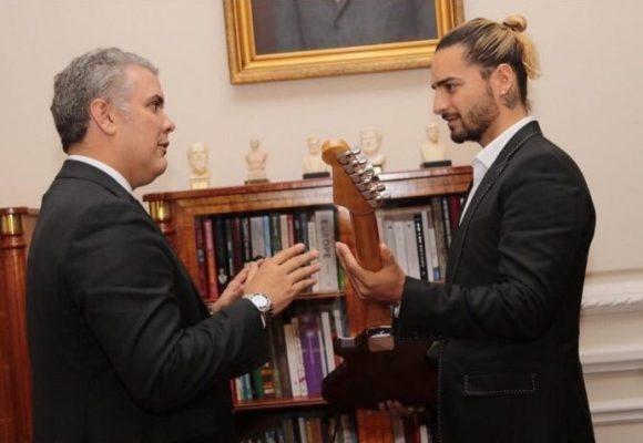 Las burlas en redes a Duque y a Maluma por su encuentro en la Casa de Nariño