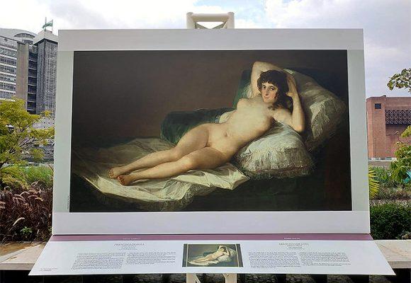 Museo del Prado de Madrid llega a saturar de arte las calles de Medellín