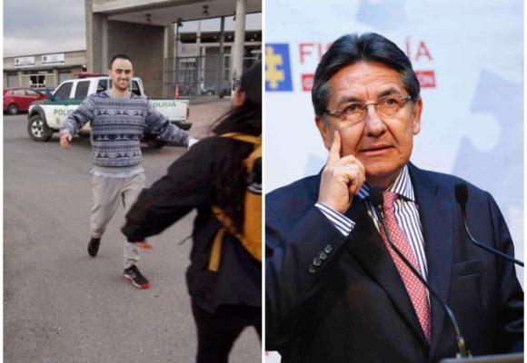 Cachetada a la Fiscalía: la conmovedora foto de Mateo Gutiérrez en libertad