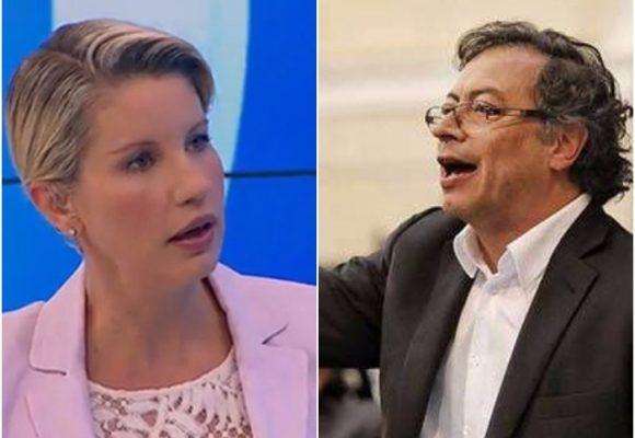 Nuevo agarrón entre Petro y Claudia Gurisatti