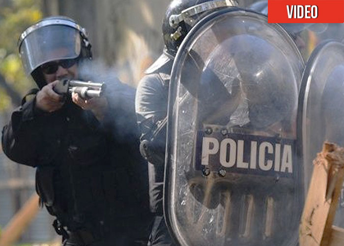 Armas chinas y 20 mil soldados protegen Buenos Aires