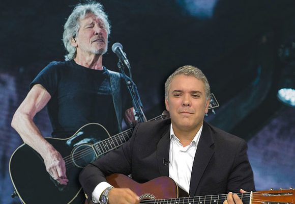 El desplante de Roger Waters a Iván Duque