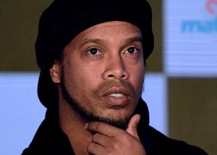 Ronaldinho se quedó sin un peso