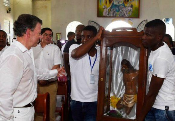En Bojaya esperan el USD$ 1 millón del Nobel de Santos para las victimas