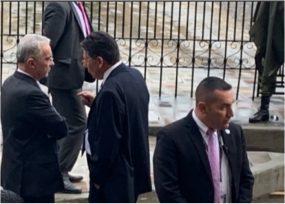 ¿A qué fueron Uribe y el fiscal Martínez a la Casa de Nariño?