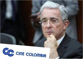 Uribe y su enérgico trino contra Cine Colombia