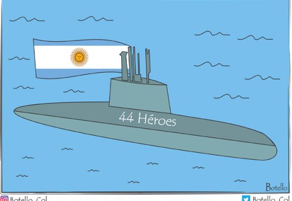 Caricatura: ¡Al fin! Hallan el ARA San Juan