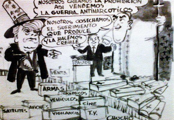 Caricatura: ¿para cuándo el fin de la guerra antinarcóticos?