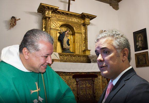 El capellán de Palacio que consuela a Iván Duque