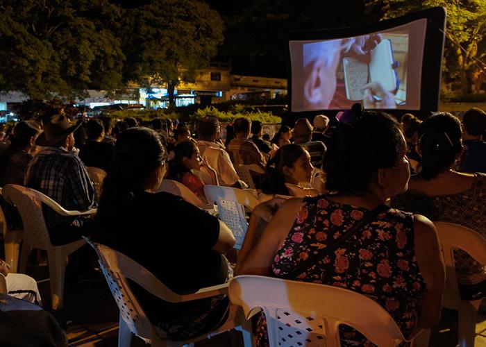 Por primera vez llega el cine a Bojayá