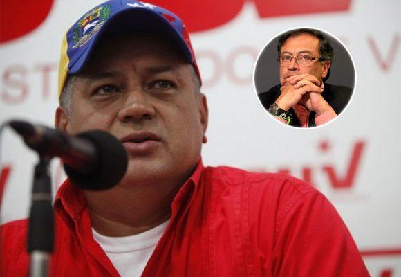 Diosdado Cabello masacró a Petro con sus últimas declaraciones