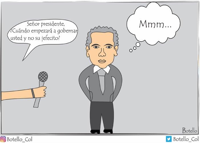 Caricatura: ¿Y el verdadero presidente?