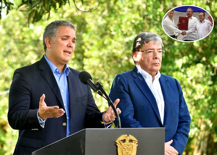 """Carlos Holmes anuncia """"ajustes"""" al acuerdo de paz"""