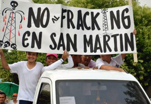 Me opongo al fracking