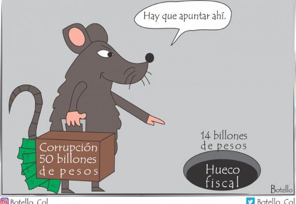 Caricatura: no, no es la corrupción...
