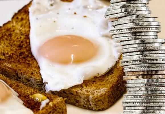 Tributar por comerse un huevo al desayuno, pero no por hacer bombas: así están las cosas
