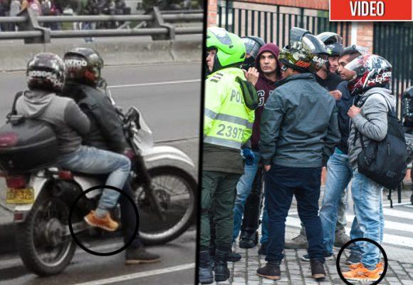 Así se movían los infiltrados de la Polícia para romper la marcha estudiantil