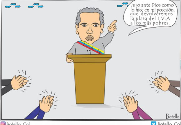 Caricatura: IVA con Duque