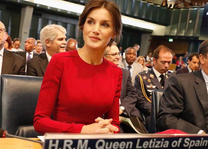 La asunción a los cielos de su alteza real Letizia