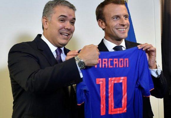 Macron y Duque: dos mandatarios con mucho en común