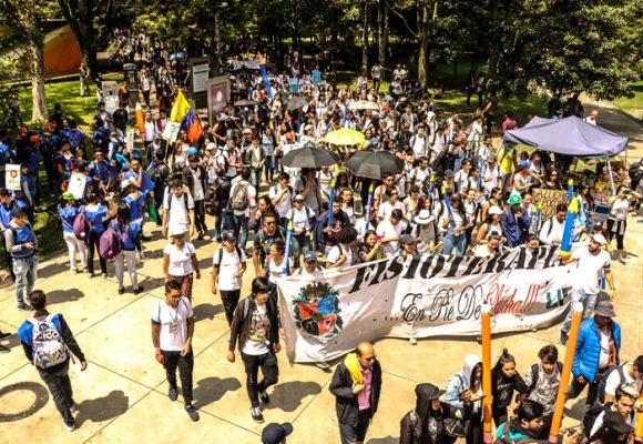 Ni de Petro ni de la izquierda, la protesta es de los estudiantes