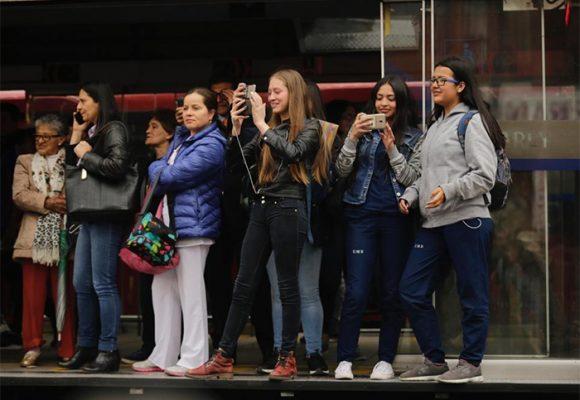 Marcha estudiantil, la prueba de fuego de TransMilenio