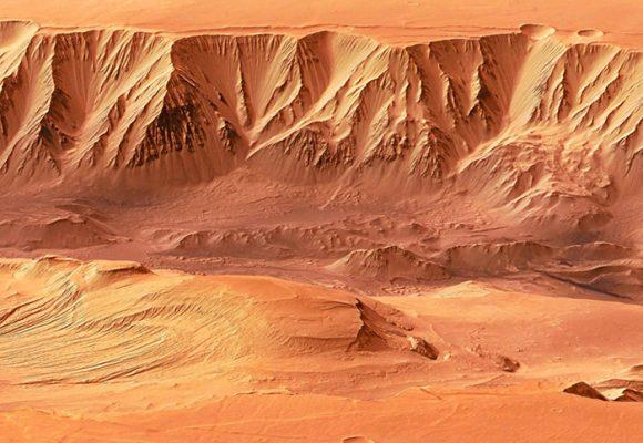 La vida en Marte…