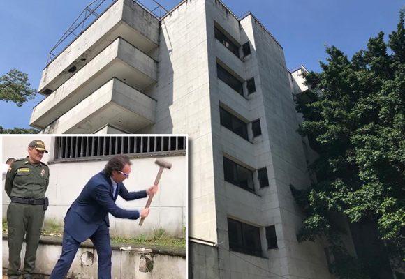 El edificio favorito de Pablo Escobar se convertirá en un parque