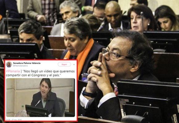 La historia del VIDEO que le amargó el debate a Petro en el Congreso