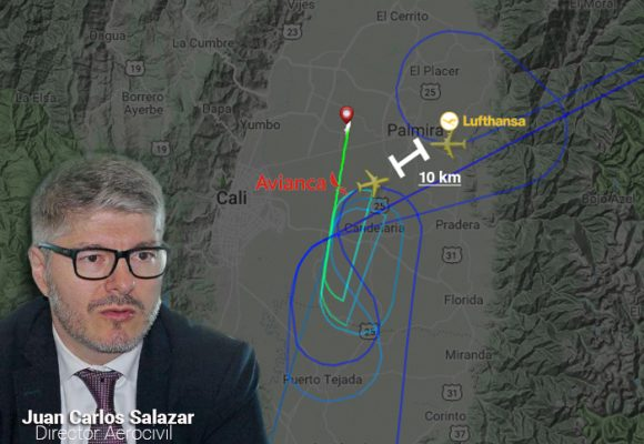 La controladora aérea de Cali que puso en riesgo la vida de 400 personas