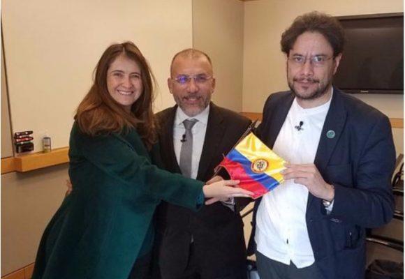 Iván Cepeda y Paloma Valencia: rabiosos en el Congreso, amigos en Washington