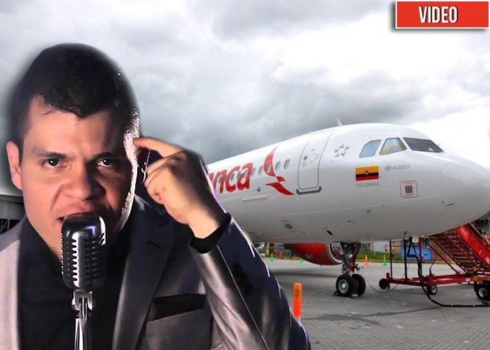 El atraco de Avianca a Álzate, el papá de la música popular. Video