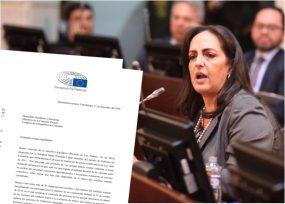Regaño del parlamento europeo a María Fernanda Cabal