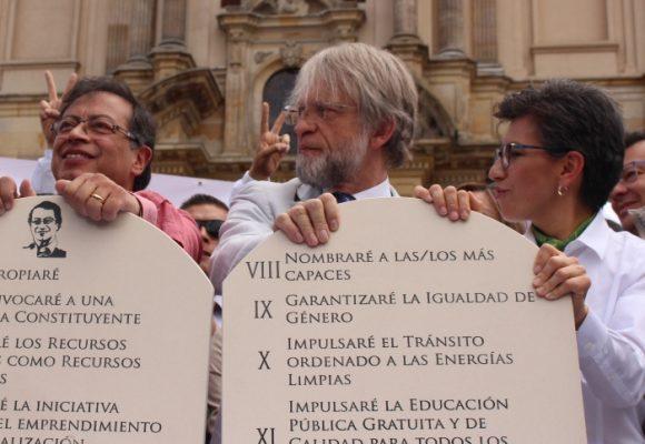 Mockus y Claudia López, los aliados de Petro le dan la espalda