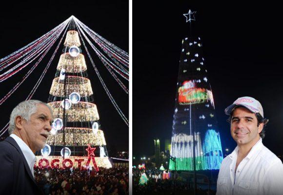 El mega árbol de navidad en Barranquilla que le sacó la piedra a Peñalosa