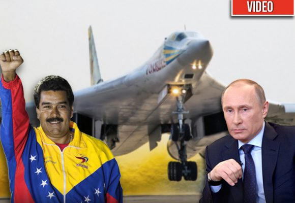 Los 'Cisnes blancos', los dos bombarderos nucleares que defenderían Venezuela de una invasión