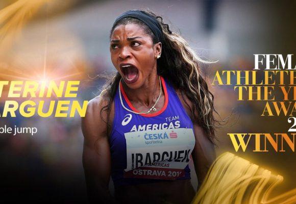 Caterine Ibargüen en la cima del atletismo mundial