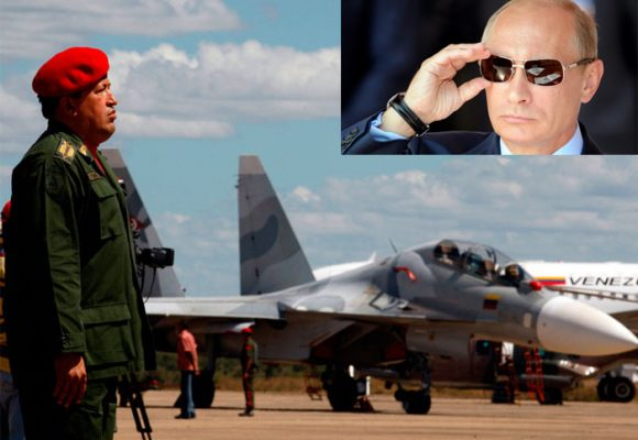 Putin: el gran hermano de Chávez y Maduro