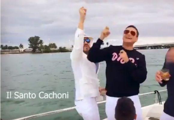 [Video] Silvestre y De La Espriella cantan el Santo Cachón