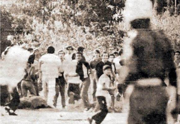 Recordando el movimiento estudiantil de los 70