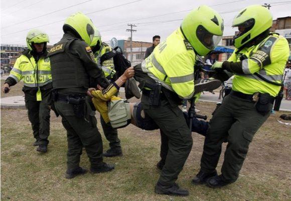 Video. Vuelve la brutalidad policial a Ibagué