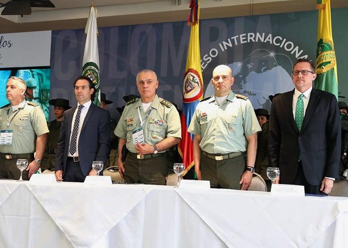 Los capos antinarcóticos se reunieron en Medellín