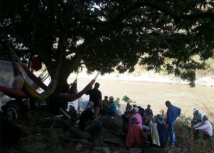 Desplazamiento masivo por combates en Suárez, Norte del Cauca