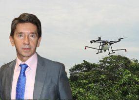 Los drones no sirven para fumigar la coca: Luis Pérez