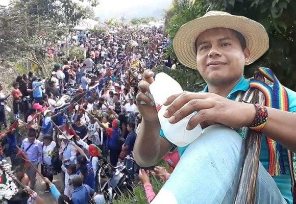 Conmovedora despedida al gobernador indígena Edwin Dagua