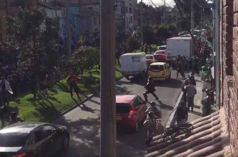 El video que comprueba que el Esmad ataca sin razón